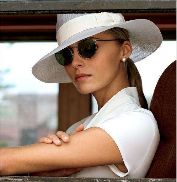 Женская шляпа федора фото