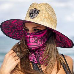 Женская шляпка и маска как сочетать фото