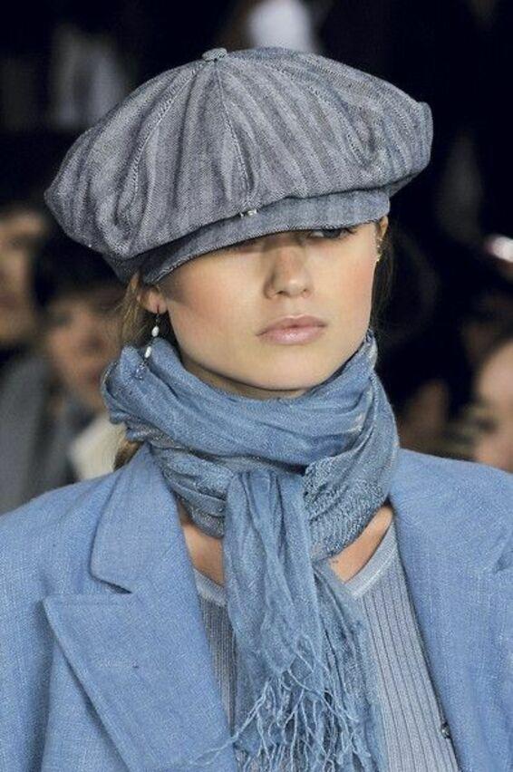 Как подобрать шарф под шляпу фото