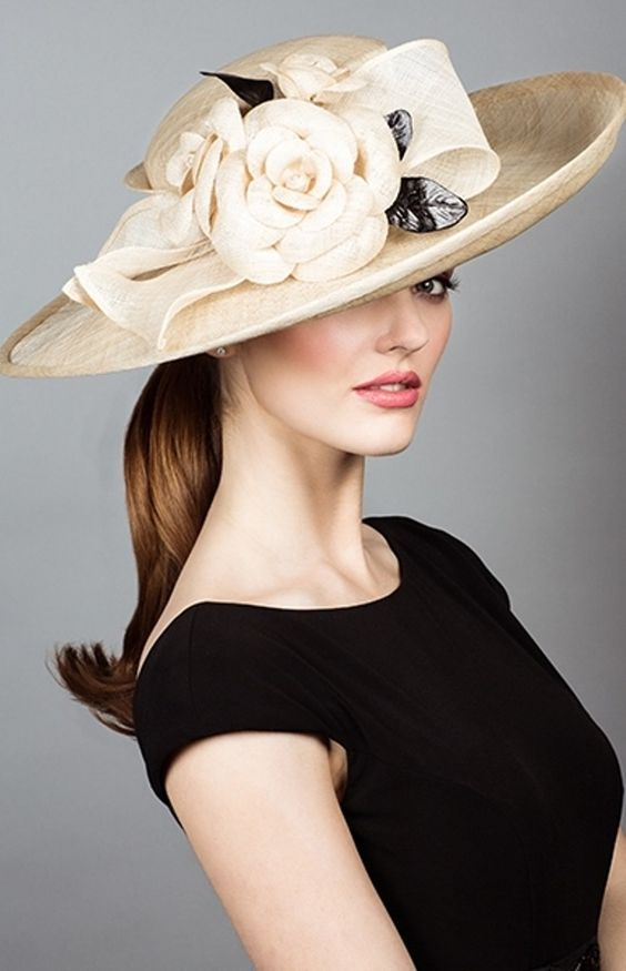 Женская шляпа по форме лица фото
