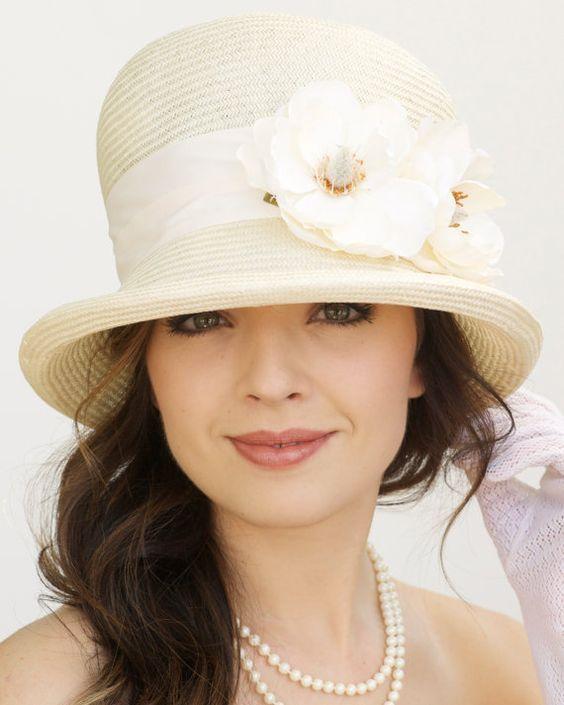 Правильно подобрать соломенную шляпу фото
