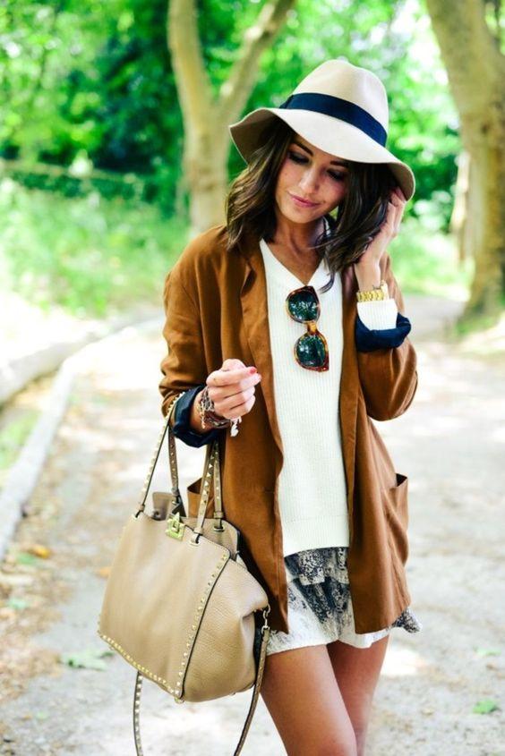 Женская шляпа трилби фото