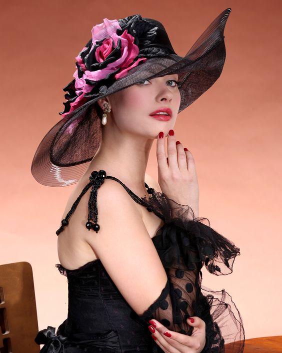 Стиль шляпы и женский характер фото