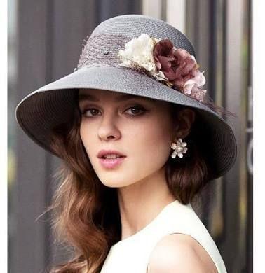 Женские шляпы из соломы. образ. фото