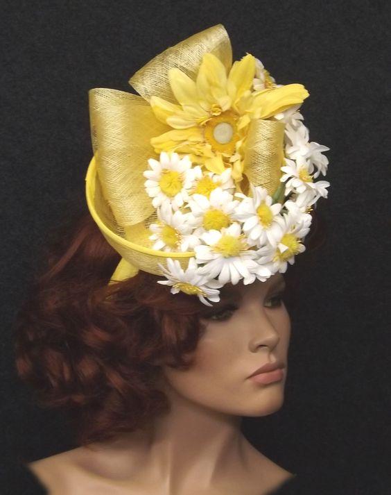 Шляпы с цветами для лета фото
