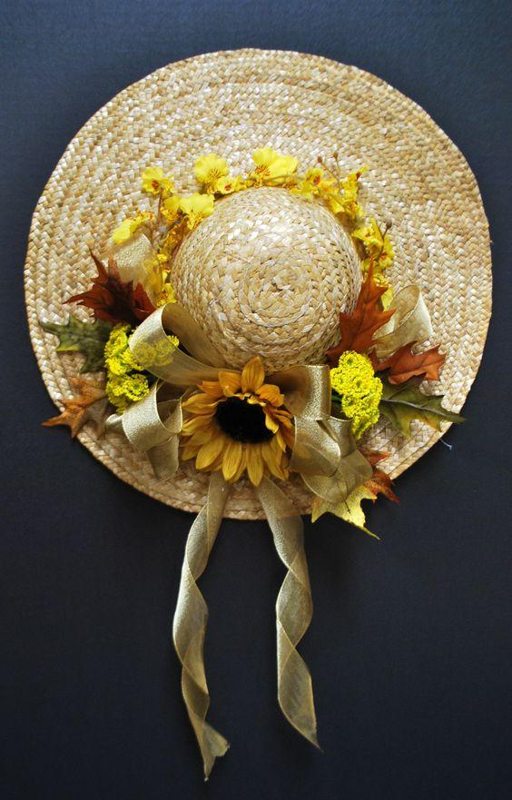 Шляпка с цветами фото