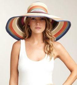 Летние женские шляпы цвета и оттенки  фото
