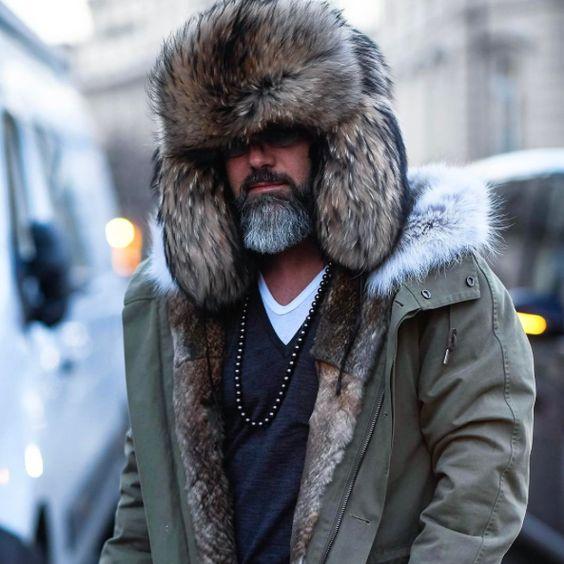 Зимние мужские шапки фото