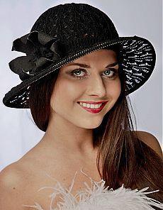 Вязаные шляпы на лето фото