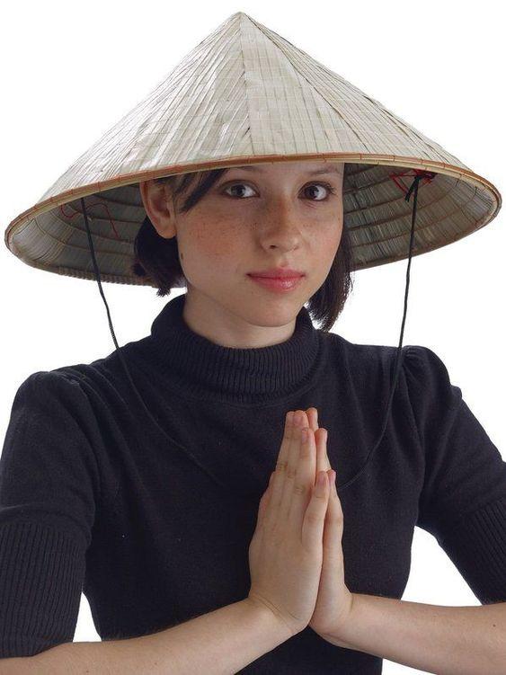 Шляпы в восточном стиле фото