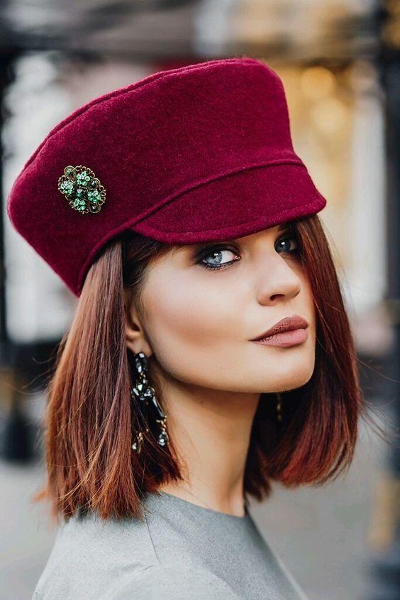 Весенние тенденции для женских головных уборов фото