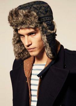 Как подобрать зимние головные уборы для мужчин фото